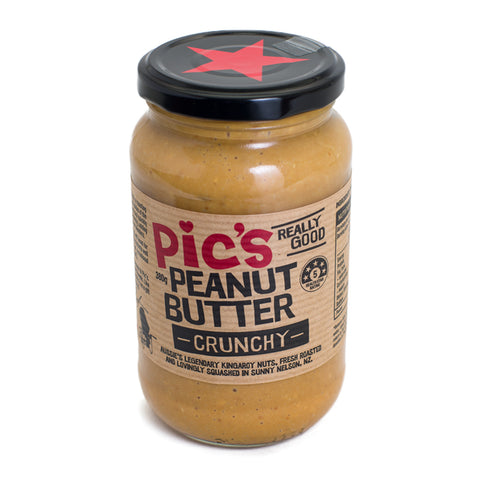 Peanut Butter - Pic's Crunchy 380g