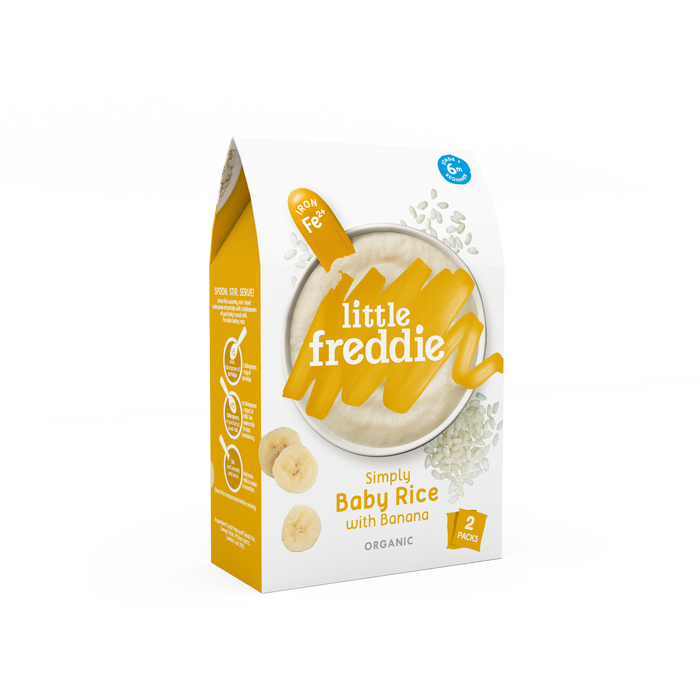 Little Freddie Simply Baby Rice with Banana 160g (6 Months+)