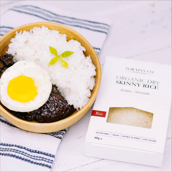 7Grains Dry Skinny Rice 80g
