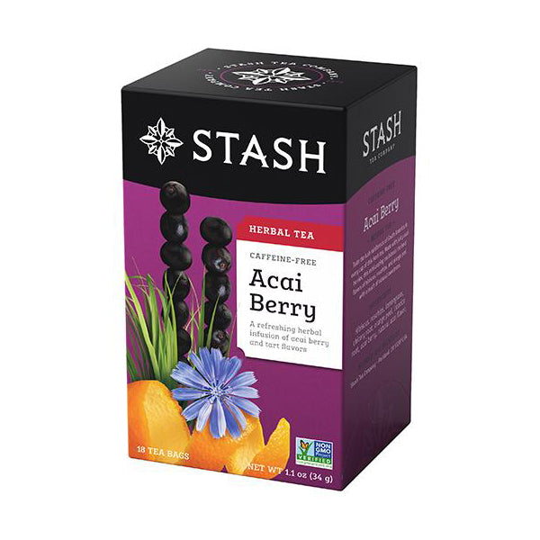 Stash Tea Acai Berry Herbal Tea (18 bags)
