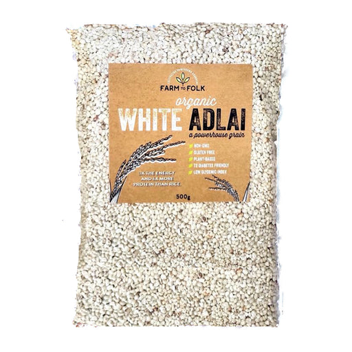 Farm to Folk Organic White Adlai 1kg