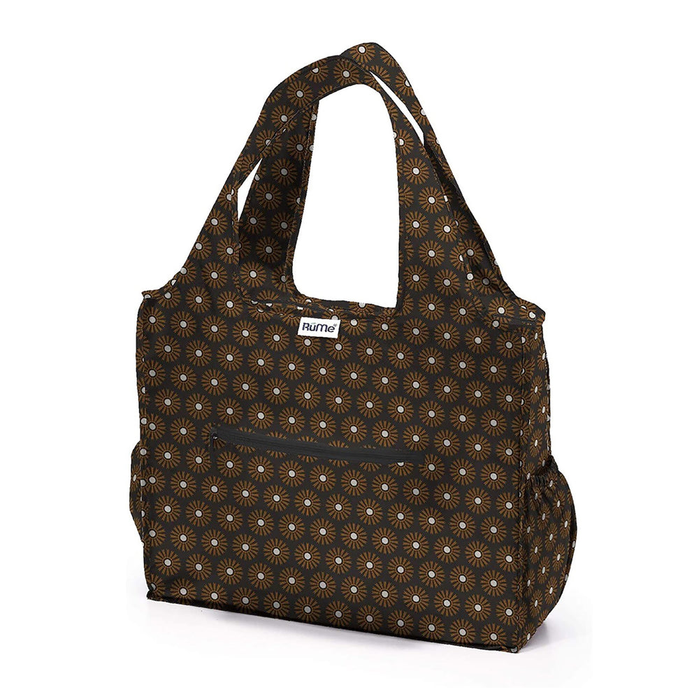 Rume Foldable Zippered Tote Clove