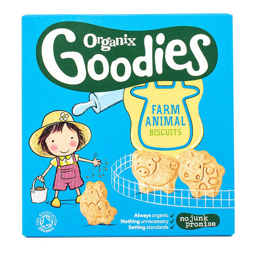 Organix Farm Animal Biscuits 100g (12 Months+)
