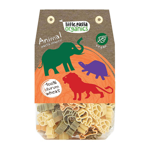 Little Pasta Organics Animal Pasta 250g