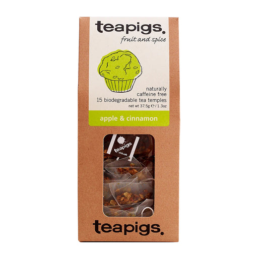 Teapigs Apple and Cinnamon Tea (15 tea temples)