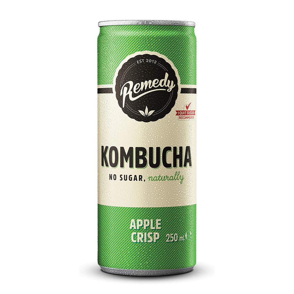 Remedy Kombucha Apple Crisp 250ml