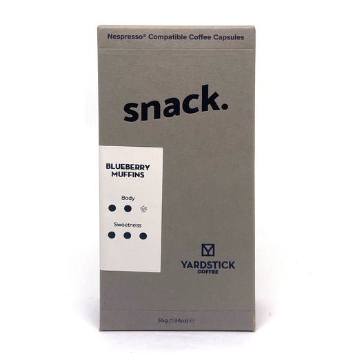 Yardstick Coffee Blueberry Muffin Nespresso Capsules (10 pods)