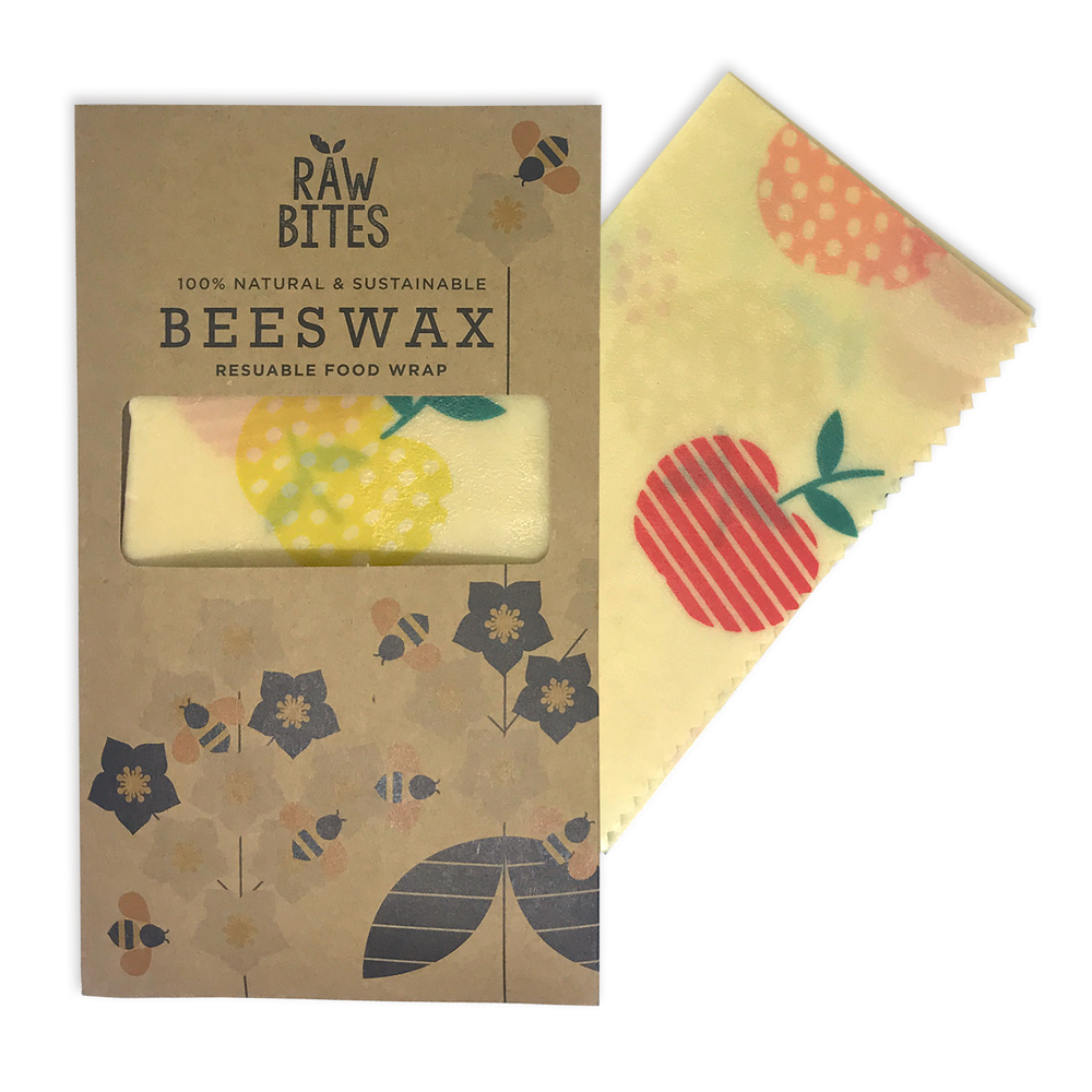 Raw Bites Beeswax Wrap - Apple (Set of 3)