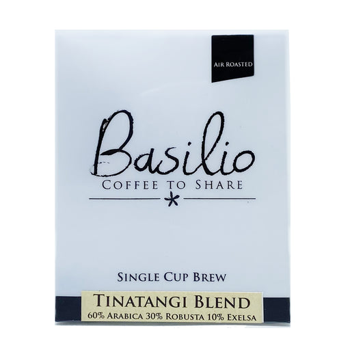 Basilio Single Cup Brew Tinatangi Blend (7 Drip Bags, 100% Arabica)