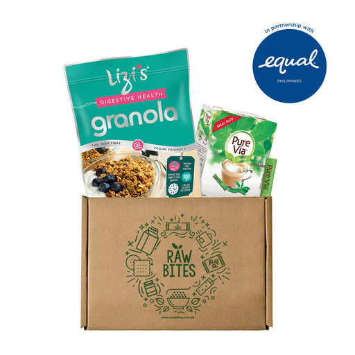 Granola Bowl Bundle 2: Lizi's Granola x Equal Pure Via (40 Sticks)