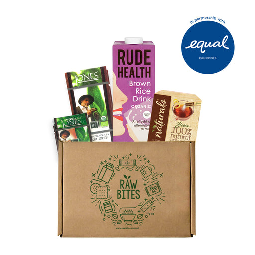 Milk Tea Bundle 1: Rude Health Drink x Jones Tea Box x Equal Naturals Stevia Sticks (40 Sticks)