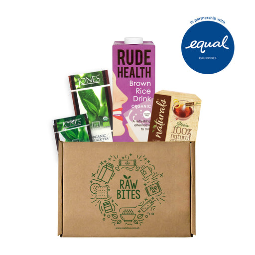 Milk Tea Bundle 2: Rude Health Drink x Jones Tea Box x Equal Naturals Stevia Sticks (40 Sticks)