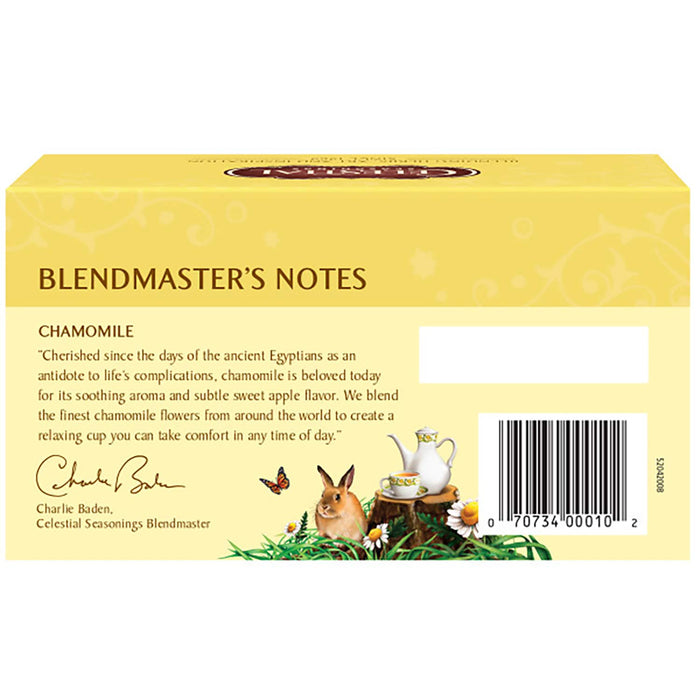 Celestial Seasonings Chamomile Herbal Tea (20 bags)