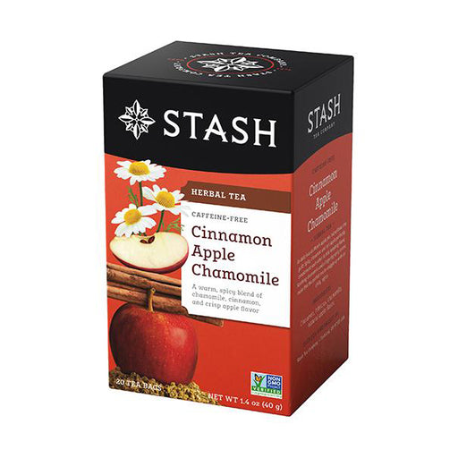 Stash Tea Cinnamon Apple Chamomile Herbal Tea (20 bags)