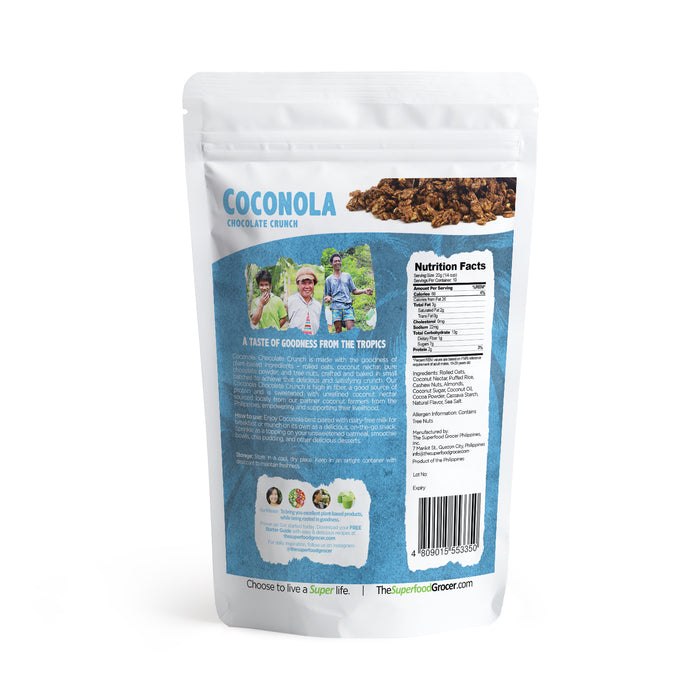 The Superfood Grocer Coconola Chocolate Crunch Granola Clusters 200g