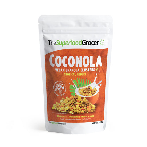 The Superfood Grocer Coconola Tropical Medley Granola Clusters 200g