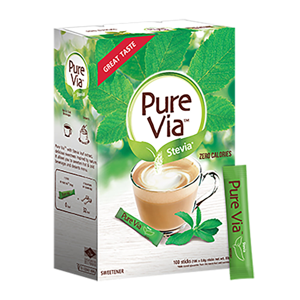 Pure Via Stevia (100 sticks)