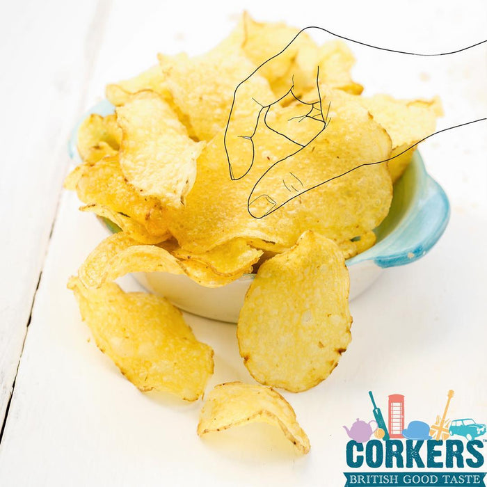 Corkers Black Truffle Potato Crisps 130g