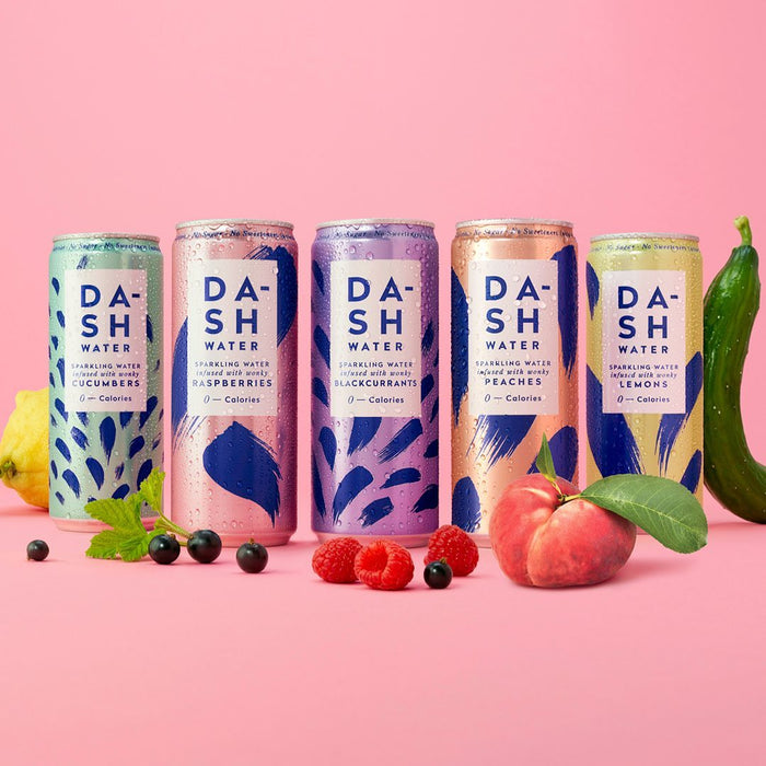 Dash Peach Sparkling Water 330ml