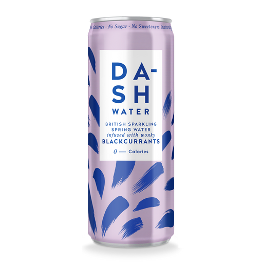 Dash Blackcurrant Sparkling Water 330ml