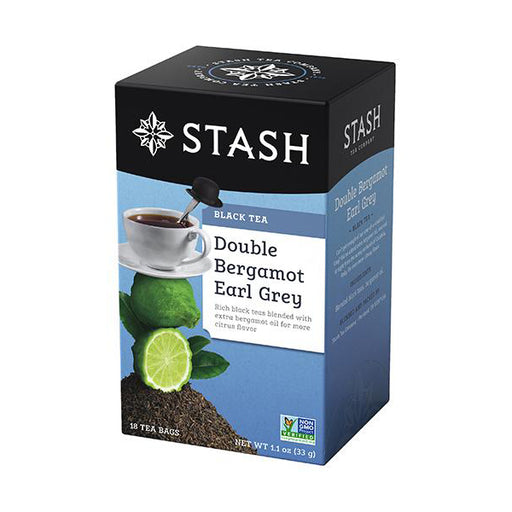 Stash Tea Double Bergamot Earl Grey Black Tea (18 bags)
