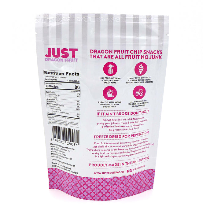 Just Fruit Freeze Dried Dragon Fruit 30g