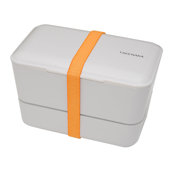 Takenaka Expanded Bento (double layer) Grey 1.15L