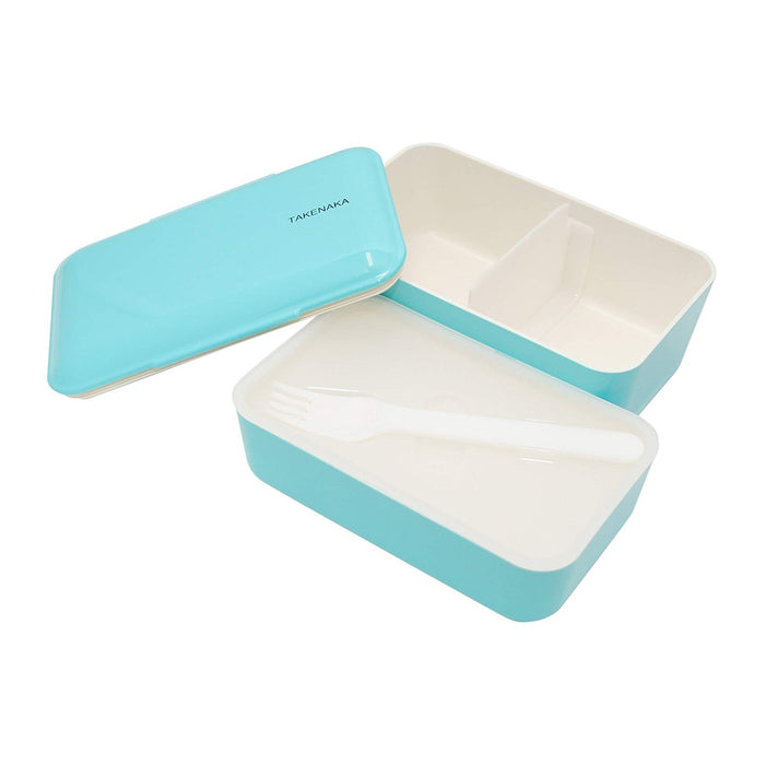Takenaka Expanded Bento (double layer) Light Blue 1.15L