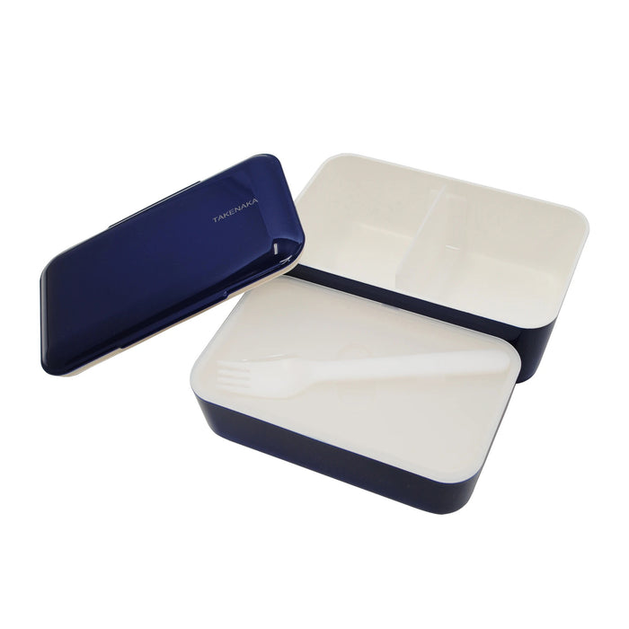 Takenaka Expanded Bento (double layer) Navy Blue 1.15L