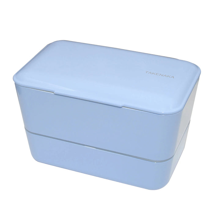 Takenaka Expanded Bento (double layer) Serenity Blue 1.15L