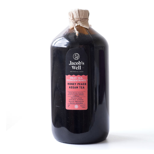 Jacob's Well Honey Peach Concentrate 1L