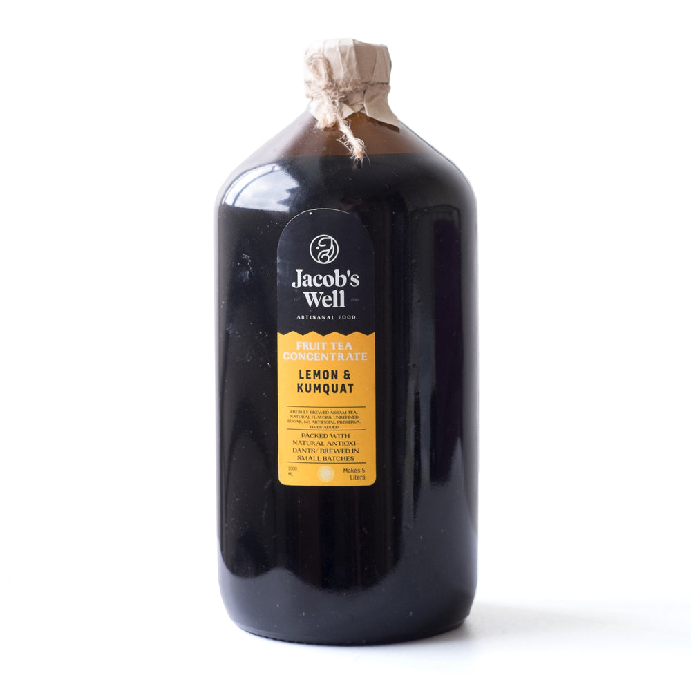 Jacob's Well Lemon and Kumquat Concentrate 1L