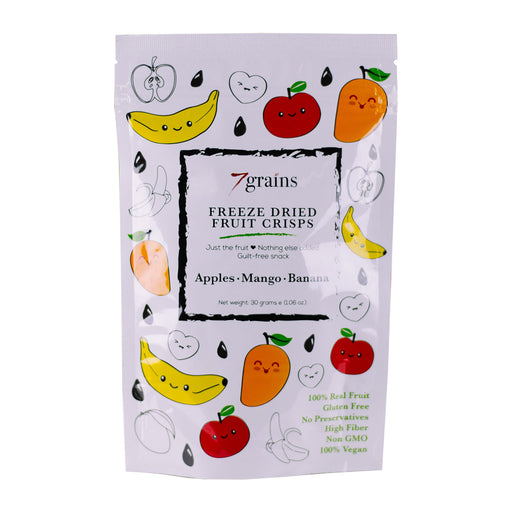 7Grains Freeze Dried Fruit Crisps 30g