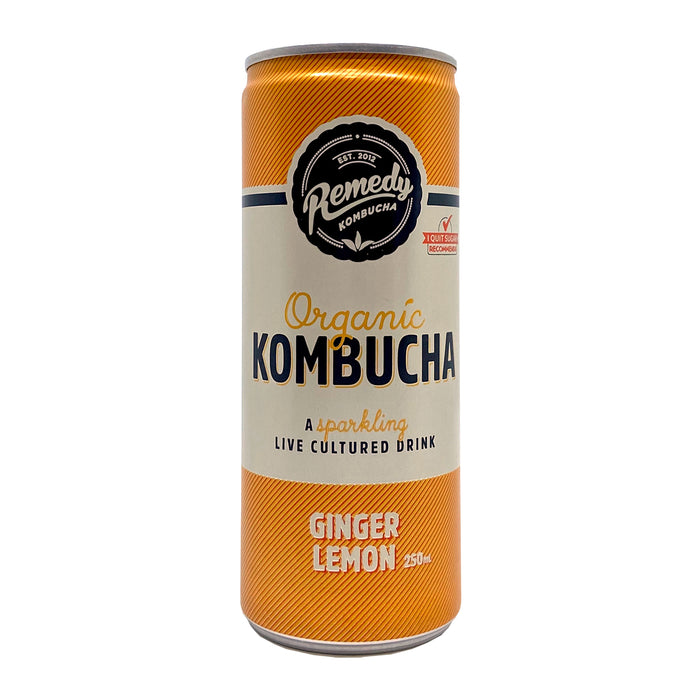 Remedy Kombucha Ginger Lemon 330ml
