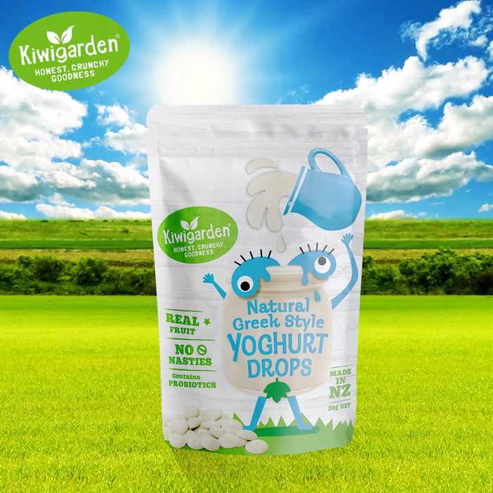 Kiwigarden Natural Greek Style Yoghurt Drops 20g