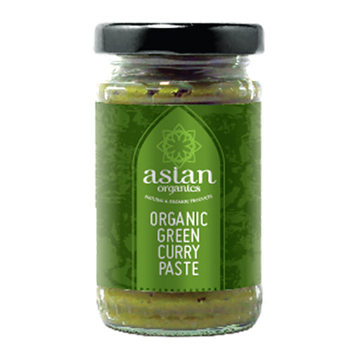 Asian Organics Organic Green Curry Paste 120g