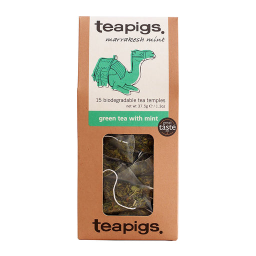 Teapigs Green Tea w Mint (15 tea temples)