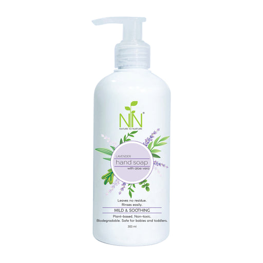 Nature To Nurture Hand Soap with Aloe Vera (Lavender) 300ml