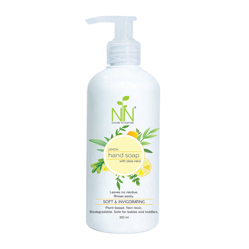 Nature To Nurture Hand Soap with Aloe Vera (Lemon) 300ml