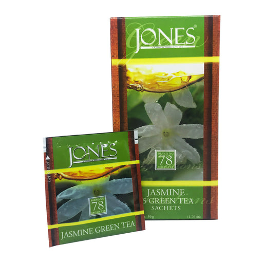 Jones Tea Organic Green Tea Jasmine (25x1.5g)