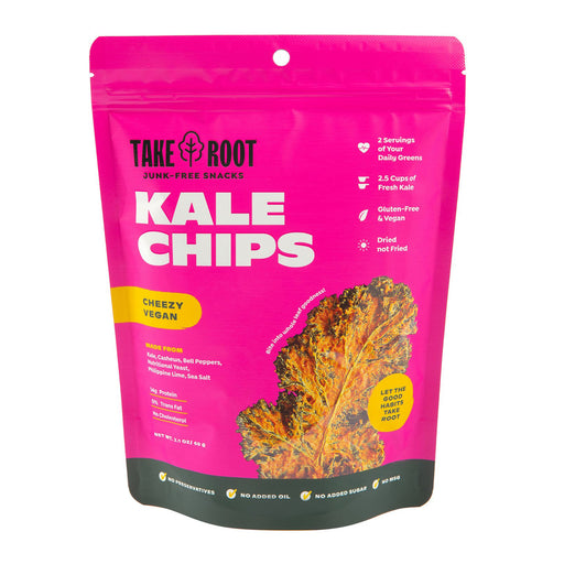 Take Root Vegan Cheeze Kale Chips 60g
