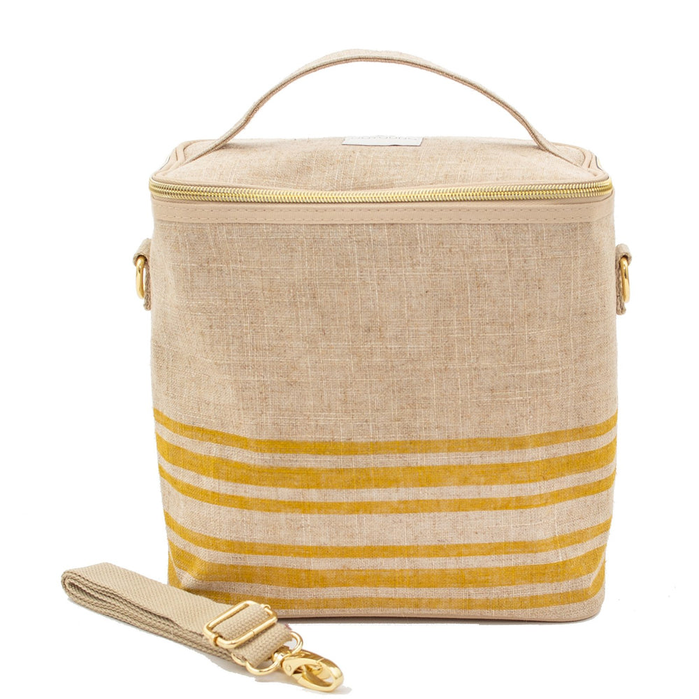 SoYoung Petite Insulated Bag - Mustard Stripe