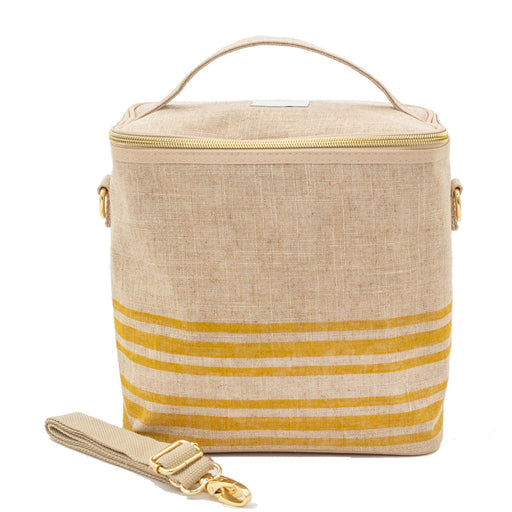 SoYoung Large Insulated Bag - Mustard Stripe