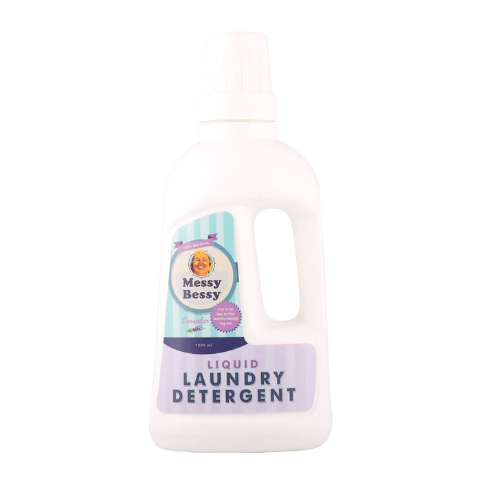 Messy Bessy Liquid Laundry Detergent Lavender 975ml