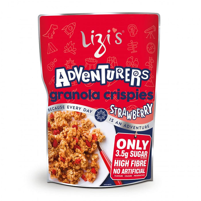 Lizi's Granola Adventurers Strawberry 400g