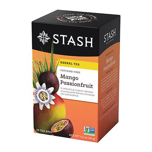 Stash Tea Mango Passionfruit Herbal Tea (20 bags)