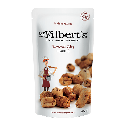 Mr Filbert's Marrakesh Spicy Peanuts 110g