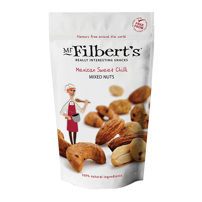 Mr Filbert's Mexican Sweet Chilli Mixed Nuts 110g