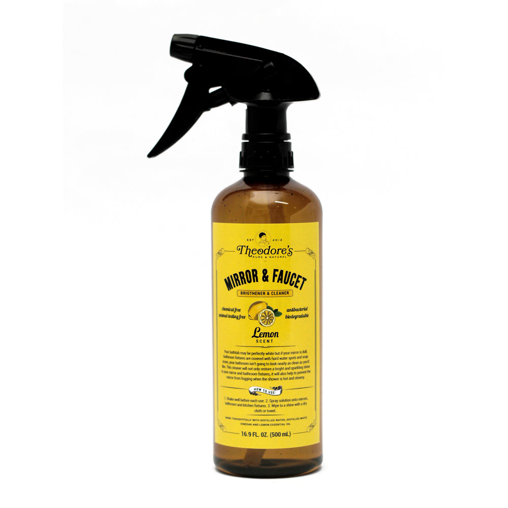 Theodore's Mirror & Faucet Cleaner (Lemon) 500ml