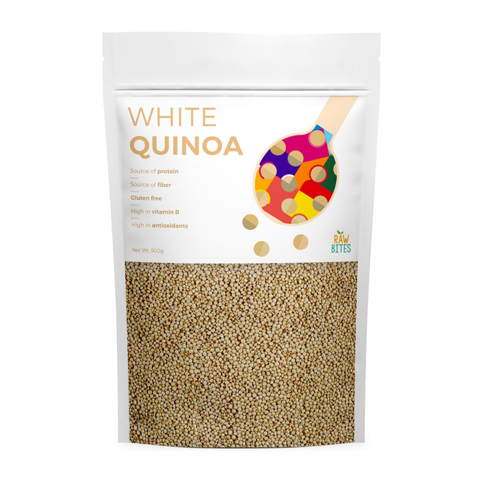 Raw Bites White Quinoa 500g